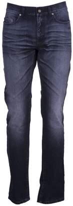 Saint Laurent Paris Jeans Slim Patch