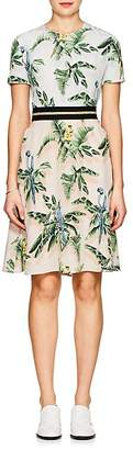 Stella McCartney Women's Birds Of Paradise-Print Silk Minidress