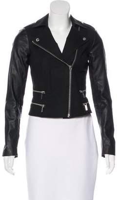 MICHAEL Michael Kors Notch-Lapel Moto Jacket