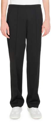Maison Margiela Men's Front-Seam Knit Pants