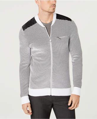 INC International Concepts I.n.c. Men's Daily Mix Full Zip Sweater