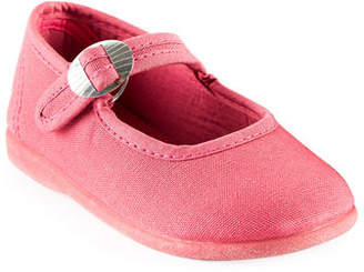 Namoo Cotton Canvas Buckle Mary Jane, Toddler/Kids