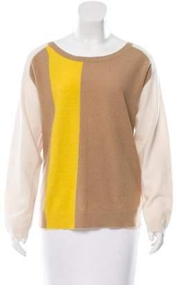 By Malene Birger Angora & Wool-Blend Colorblock Sweater