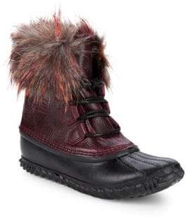 Sorel Out N About Faux Fur Lux Boots