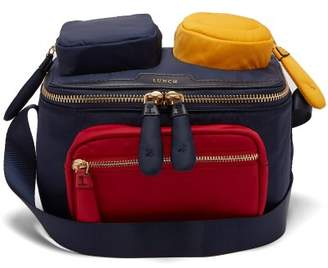 Anya Hindmarch Chubby Wink Lunchbox Bag - Womens - Navy Multi