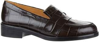 Sandro Leather Max Loafers