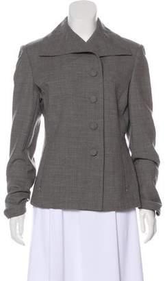 St. John Structured Wool Blazer