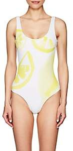 Onia Women's Kelly Lemon-Print One-Piece Swimsuit-White, Ylw