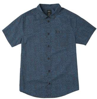 RVCA Happy Thoughts Print Woven Shirt