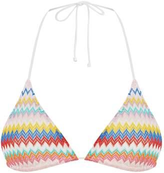 Missoni Mare Zig Zag Triangle Bikini Top