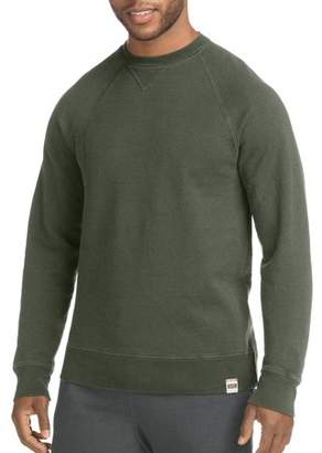 Hanes Men's 1901 Heritage V-Notch Raglan Sweatshirt
