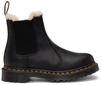 Dr. Martens Black Leonore Boots