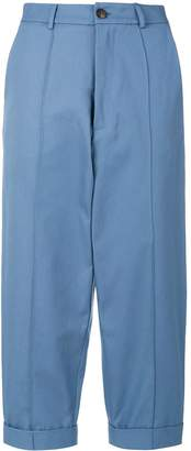 Societe Anonyme cropped chino trousers