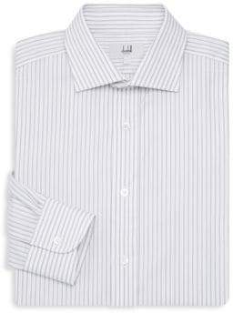 Dunhill Regular Fit Pinstripe Dress Shirt