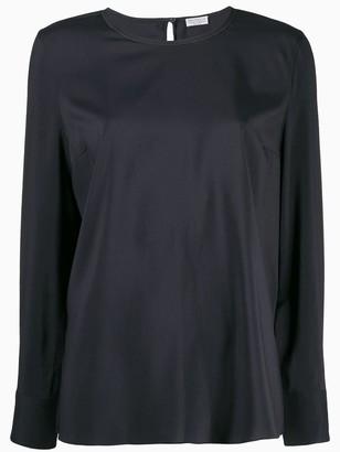 Brunello Cucinelli round neck blouse