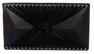 Herve Leger Giselle Knotted Clutch