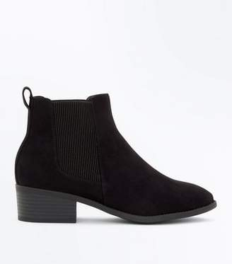 New Look Girls Black Chelsea Boots