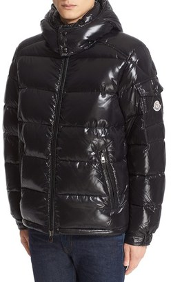 Men's Moncler Maya Lacquered Down Jacket $1,070 thestylecure.com