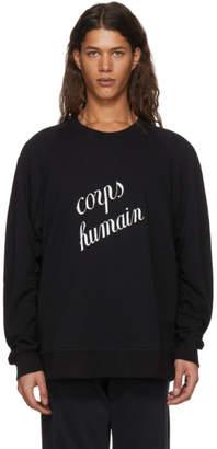 Ann Demeulemeester Black Tony Corps Humain Sweatshirt