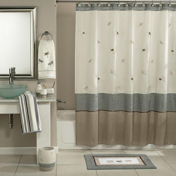 Home classics® shalimar dragonfly bath accessories