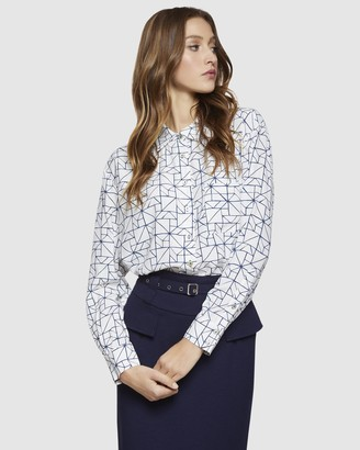 Oxford Lily Merivale Printed Blouse