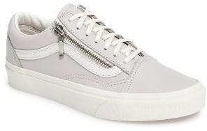 Women's Vans 'Old Skool' Zip Sneaker $79.95 thestylecure.com