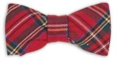 Florence Eiseman Baby's Clip-On Plaid Bow Tie