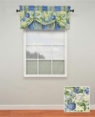 Ellery Floral Flourish Lined window valance