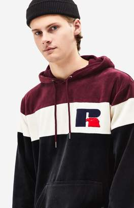 Russell Athletic Velour Pullover Hoodie
