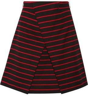 Proenza Coton Femme Schouler Et Short Jacquard Soie Mélange Noir Taille 4 Proenza Schouler E4HeGz