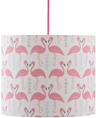 Rosa & Clara Designs - Flamingo Flourish Lampshade White Medium