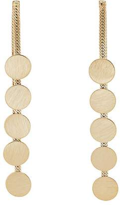 Kenneth Jay Lane WOMEN'S MULTI-CHAIN & DISC EARRINGS