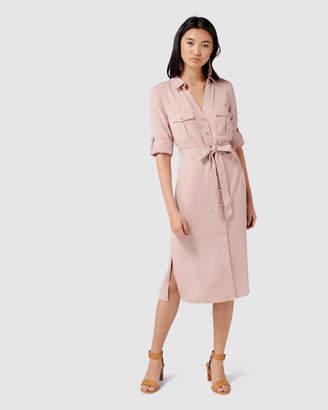 Forever New Nikki Utility Shirt Dress