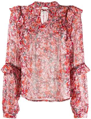 Cecilie Copenhagen Charlize floral print blouse