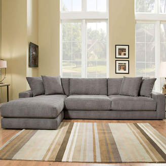 Asstd National Brand Fabric Possibilities Ponderosa Quick Ship 2-Piece Left Arm Facing Chaise Sectional