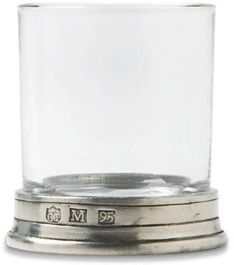 Match Pewter Handmade Italian Pewter & Lead Free Crystal Neat Shot Glass