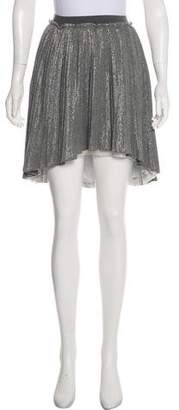 MonnaLisa Metallic Knit Skirt