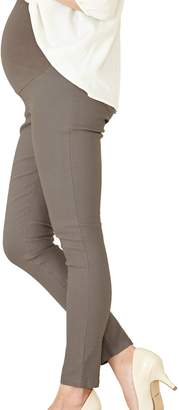 Sweet Mommy Stretchy Skinny Leg Maternity Colored Pants
