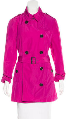 Burberry Brit Belted Trench Coat w/ Tags $400 thestylecure.com