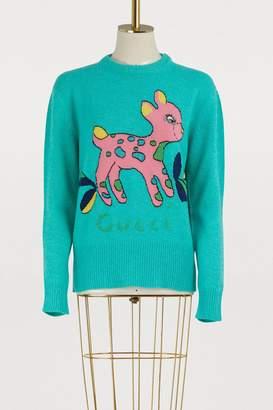 Gucci Bambi wool sweater