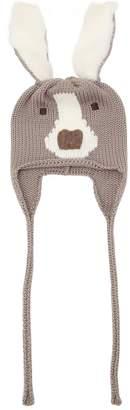 Dog Merino Wool Knit Hat