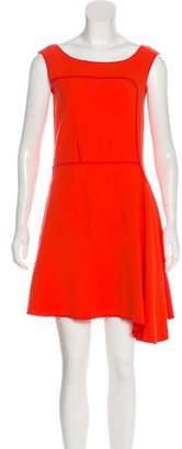 Nina Ricci Virgin Wool Mini Dress