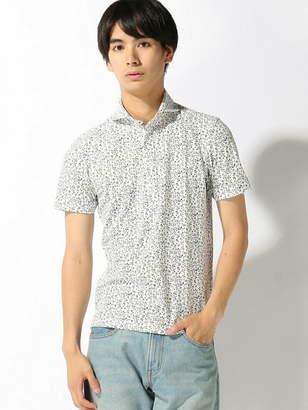 Men's Bigi (メンズ ビギ) - MEN'S BIGI フラワープリント鹿の子ポロシャツ メンズ ビギ カットソー