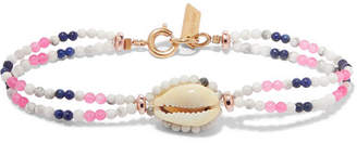 Isabel Marant Bead And Shell Bracelet - Ecru