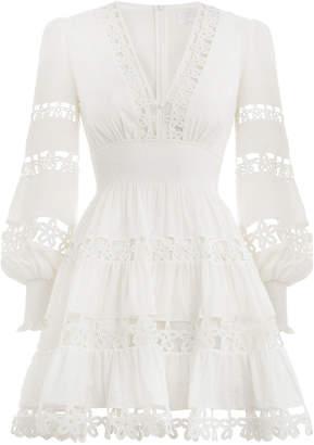 Zimmermann Primrose Daisy Short Dress