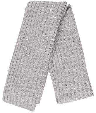 The Arrivals Rib Knit Cashmere Scarf