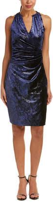 T Tahari Faux Wrap Dress