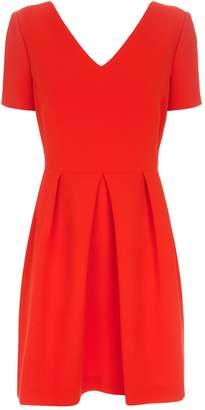 Claudie Pierlot Rosaline Bow Detail Dress