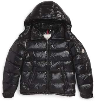 Moncler 'Maya' Shiny Water Resistant Down Jacket