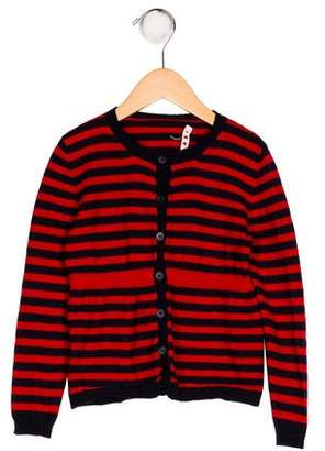 Marni Junior Girls' Virgin Wool Cardigan